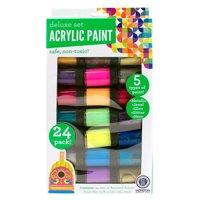 Go Create Permanent Acrylic Rainbow Paint Set, 24ct.