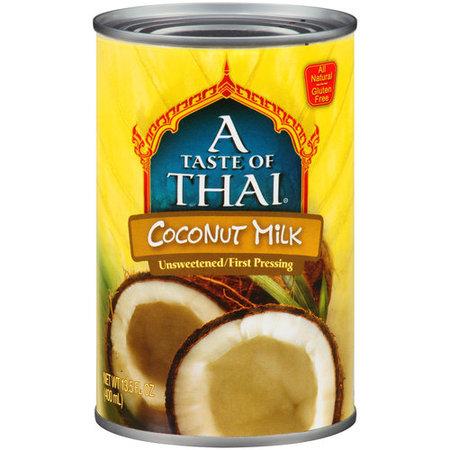 (4 Pack) A Taste of Thai Coconut Milk, 13.5 fl oz (thai kitchen organic coconut milk)