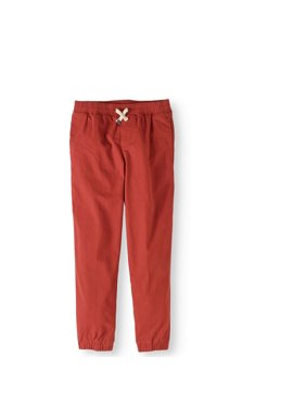 Boys' Woven Pull On Jogger Pant With Draw String