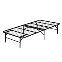 Furinno Angeland Mattress Foundation Platform Metal Bed Frame, Twin, FB001T
