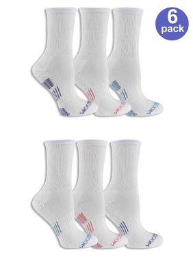 Women's Everyday Active Crew Socks 6 Pack