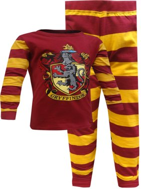 Harry Potter Gryffindor 2 Piece Pajama Set (Boys & Girls)