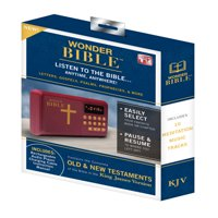Wonder Bible Old and New Testament Audio Book - As Seen on TV