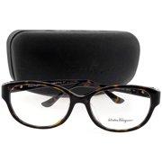 7691296535ecd Salvatore Ferragamo SF2744RA-214-54 Rectangle Unisex Tortoise Frame Clear  Lens Eyeglasses