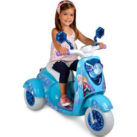 6V Disney Frozen 3-Wheel Scooter Ride On](Disney Frozen Shoes)
