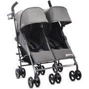 Joovy Twin Groove Ultralight Double Twin Stroller Double Umbrella Stroller, Charcoal