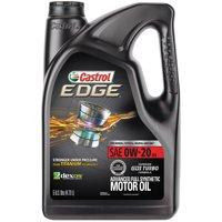 Castrol EDGE 0W-20 Advanced Full Synthetic Motor Oil, 5 QT