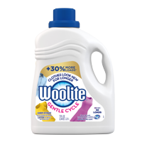 Woolite GENTLE CYCLE Liquid Laundry Detergent, 75oz Bottle With Color Renew, HE & Regular Washers
