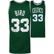 351ecfea977 Larry Bird Boston Celtics Autographed Green Mitchell   Ness Swingman Jersey  - Fanatics Authentic Certified
