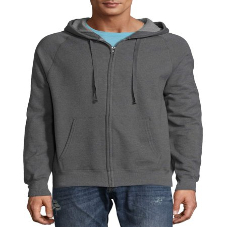 - Men's Nano Premium Soft Lightweight Fleece Full Zip Hood