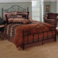 Hillsdale Furniture Harrison Metal Bed, Black, Multiple Sizes