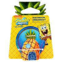 (2 Pack) Penn Plax SpongeBob Mini Figures Assorted Aquarium Decoration, Character May Vary