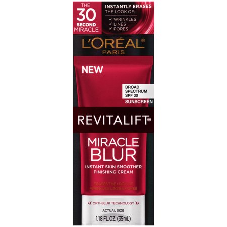 L'Oreal Paris Revitalift Original Instant Skin Smoother Broad Spectrum, SPF 30, 1.18 fl oz