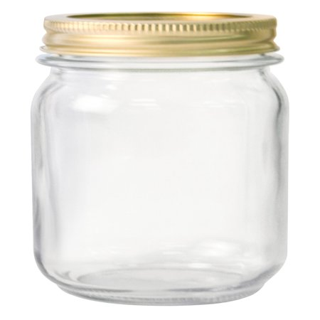 Anchor Hocking Pint Glass Canning Jar Set, 12pk regular - Painted Halloween Mason Jars