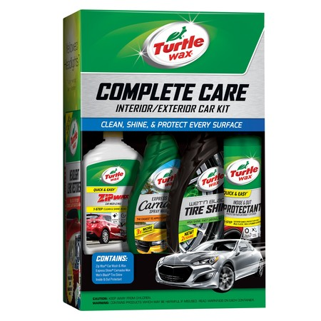 Turtle Wax Car Care Kit (Best Car Wax For White Paint)