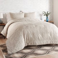 Better Homes and Gardens 3-Piece Clipped Jacquard Comforter Set