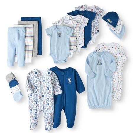 - Garanimals Newborn Baby Boy 20 Piece Layette Baby Shower Gift Set
