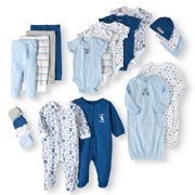 Garanimals Newborn Baby Boy 20 Piece Layette Baby Shower Gift Set a55cd3d6806b