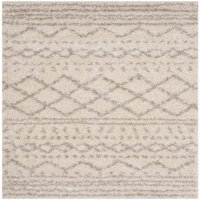 Safavieh Arizona Teagan Geometric Stripes Shag Area Rug or Runner