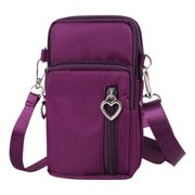 07a169114 Cell Phone Pouch, EEEKit Waterproof Cellphone Purse Crossbody Shoulder Bag  Armband with Detachable Strap for