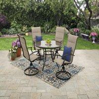 Mainstays Highland Knolls Outdoor Patio Dining Set - Tan