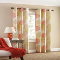 Mainstays Hanging Medallion Curtain Panel, Set of 2