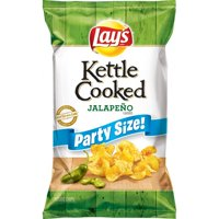 Lay's Kettle Cooked Jalapeno Potato Chips, 13.5 Oz.