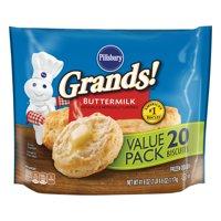 Pillsbury Grands! Buttermilk Biscuits Value Pack, 20 Ct, 41.6 oz