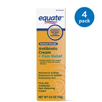 Equate Max Strength Triple Antibiotic & Pain Relief Ointment, 1oz