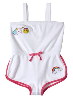 fae84c4e53 Product Image Baby Toddler Girl Terrycloth Romper Swim Cover-up