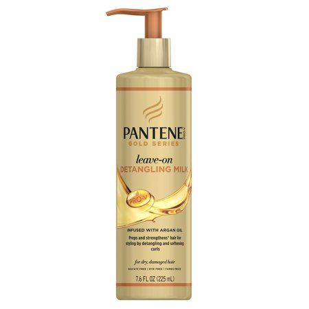 Pantene Pro-V Gold Series Leave-On Detangling Milk Treatment, 7.6 fl