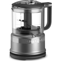 KitchenAid 3.5 Cup Mini Food Chopper, Silver