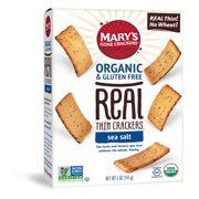 Marys Real Thins Sea Salt Crackers