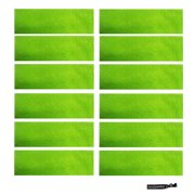 Kenz Laurenz Sweatbands 12 Terry Cotton Sports Headbands Sweat Absorbing  Head Bands Neon Green fbbb0129bee