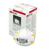 3M N95 Particle Respirator 8200 Mask, 20-Pack