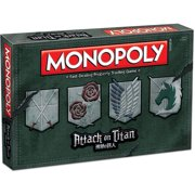 Attack on Titan Monopoly Game