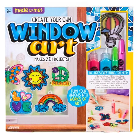 Made By Me Create Your Own Window Art - Children's Christmas Crafts