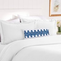 Elegant Comfort 1500 Thread Count Egyptian Quality Luxury Super Soft WRINKLE FREE 3-Piece Duvet Cover Set, Full/Queen, Black