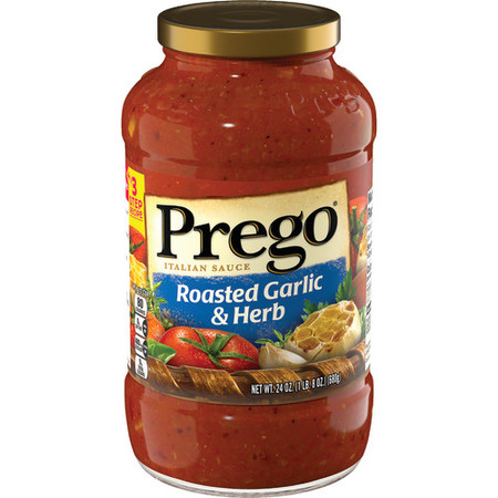 Prego Roasted Garlic & Herb Italian Sauce, 24 oz.