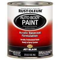 Rust-Oleum Automotive Enamel, Jet Black, 1 qt