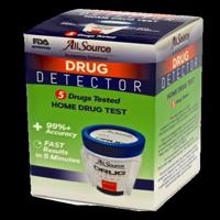 AllSource Drug Detector 5 Panel Home Drug Test