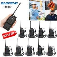 Ktaxon 10 x BAOFENG BF-888S UHF 400-470MHz 5W 16CH Ham Two Way Radio Walkie Talkie