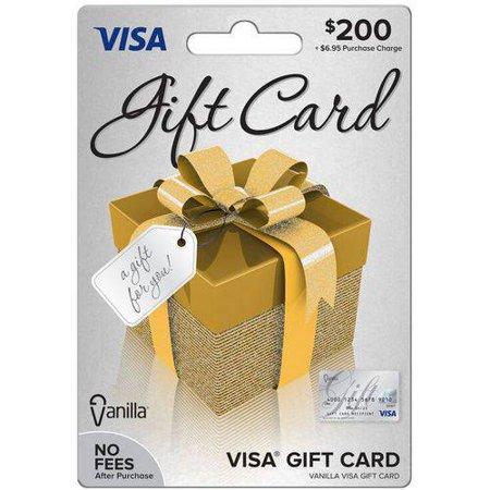 Visa 200 Gift Card Walmart