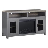 "Ameriwood Home Carver Fireplace TV Stand up to 60"" Multiple Colors"