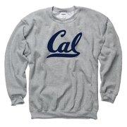 b8a320ea60adc0 California Golden Bears Script Cal Crew Neck Mens Sweatshirt- Grey
