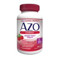 Azo Maximum Strength Cranberry Softgels, 100 Ct