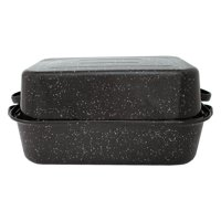 Granite Ware Large Covered Rectangular Roaster