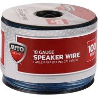 Auto Drive Car Stereo Speaker Wire, 18ga, 100', 30.5m
