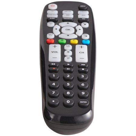 Blackweb 6 Device Universal Large Button Remote Control Walmart