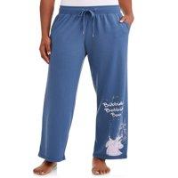 Disney Women's and Women's Plus Cinderella Pajama Pant